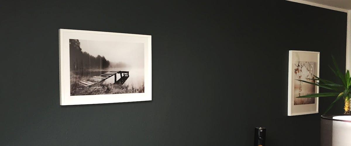 Stilvolles Schwarz-Wei�-Bild