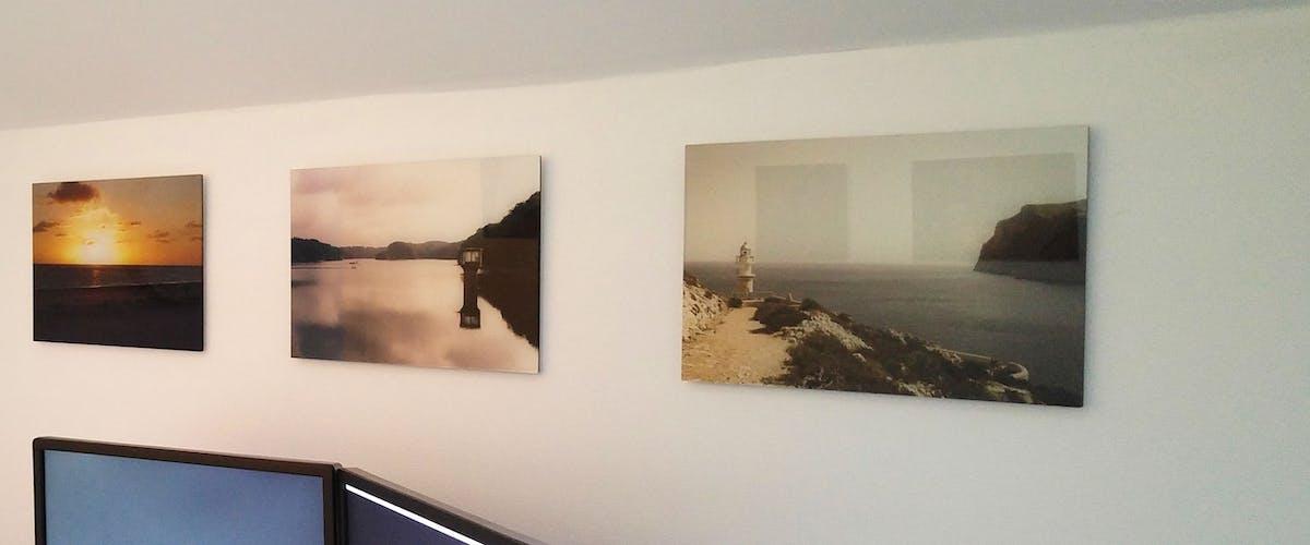 Foto als Galerie-Print Beispiele