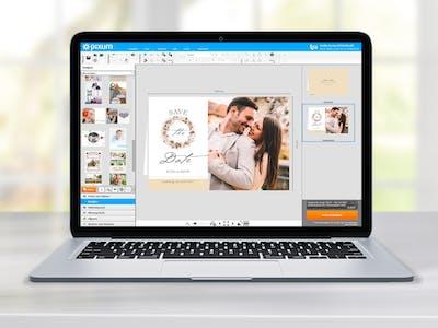Nutzen die Stile-Funktion in der Fotowelt Software und kreiere im Nu dein individuelles Fotobuch.