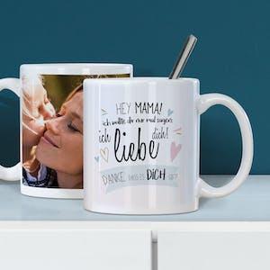 Fototasse zum Muttertag