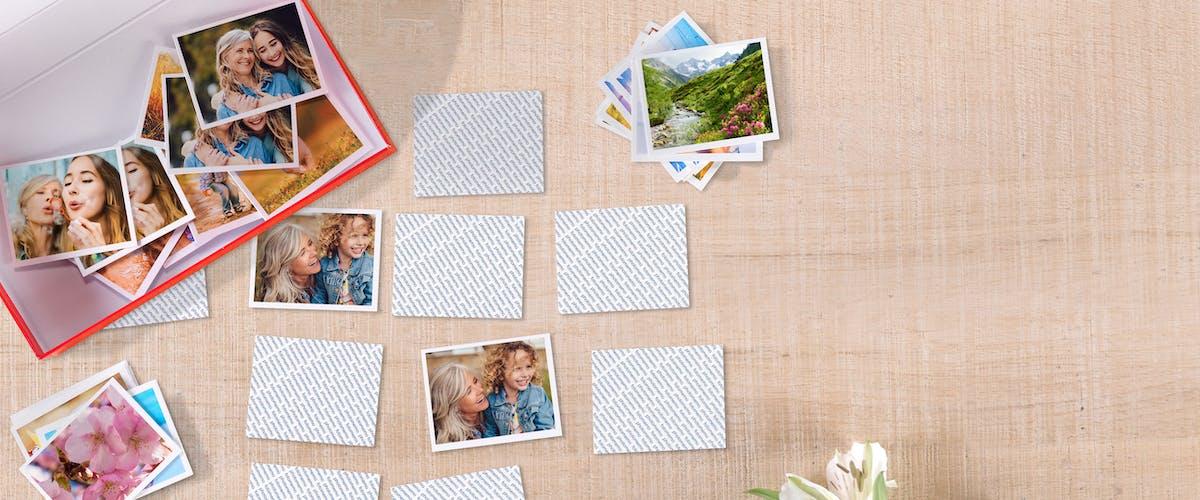 Foto-memory spel