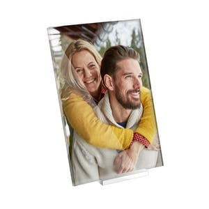 Foto bag akrylglas