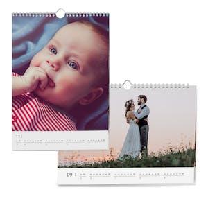 Tous les formats de calendriers