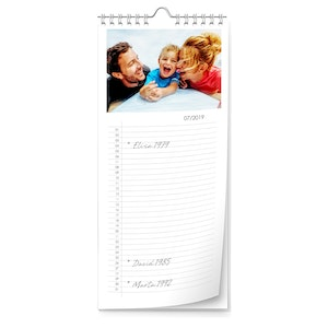 Calendrier planning