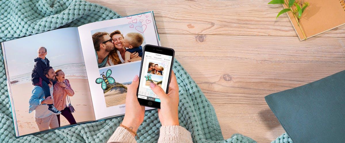 Snel & gemakkelijk: <br />Probeer de Pixum App