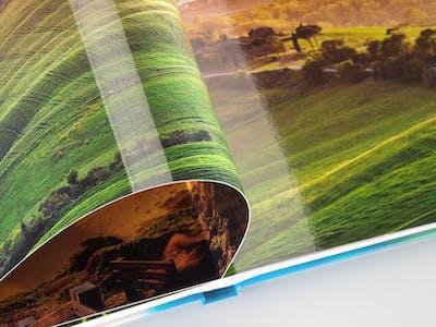 Fotobuch Fotopapier gänzend eignet sich ideal für farbenfrohe Bilder.