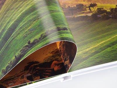 Fotopapier matt - leuchtende Farben und Kaschierung von Fingerabdrücken
