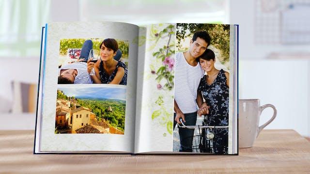 Eigenes Bild Als Hintergrund Im Fotobuch Wählen Pixum