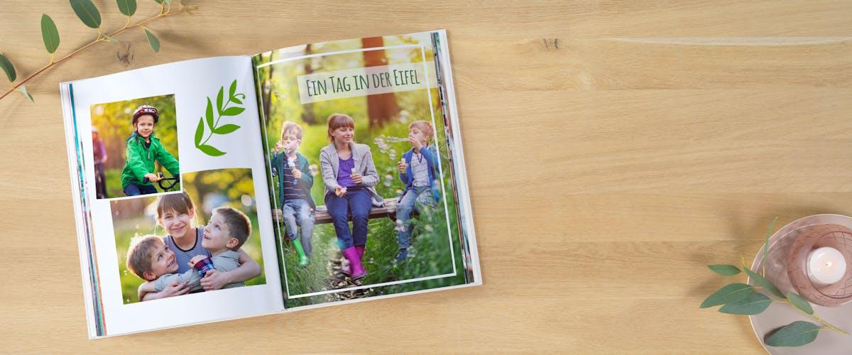 Fotobuch als Erinnerung an die Kindergartenzeit