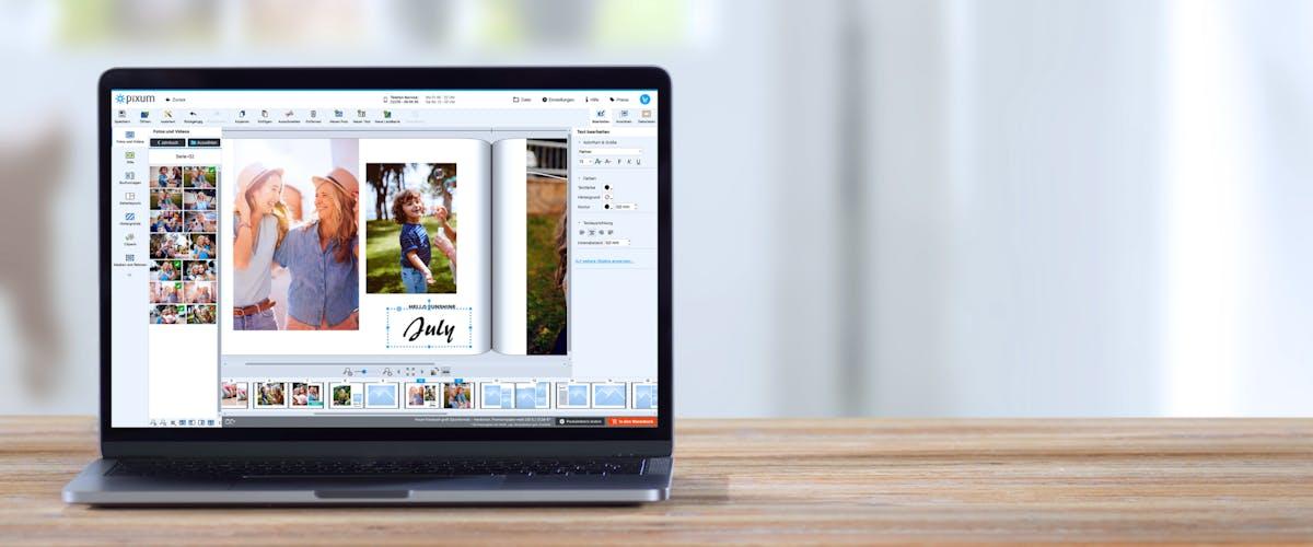 Fotowelt Software Login und Logout