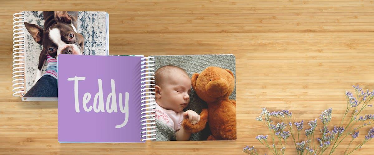 Babyboek als dierenboekje