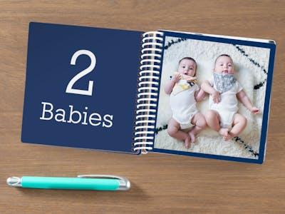 Livre photo d'enfant avec nombres