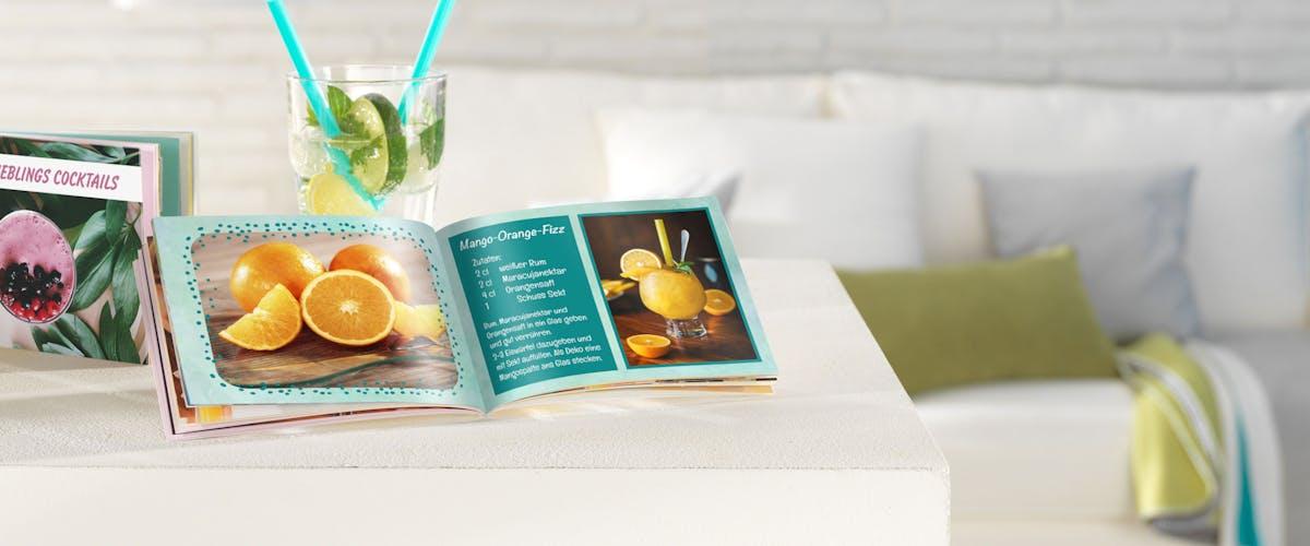 Cocktailboekje zelf maken