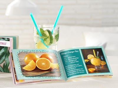Ihre große Leidenschaft ist das Cocktail-Mixen? Halten Sie die besten Rezepte im Hobby-Fotobuch fest!