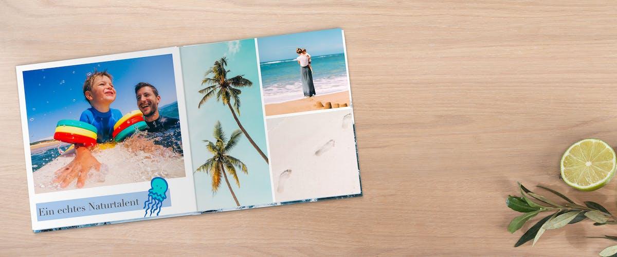 Fotobuch schnell & einfach gestalten