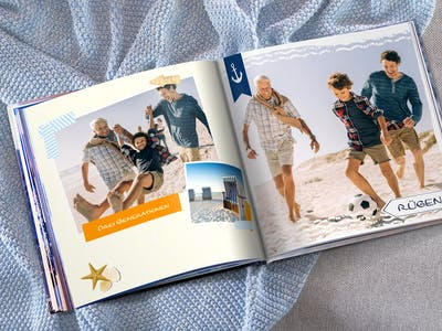 Pixum Fotobuch mit Cliparts