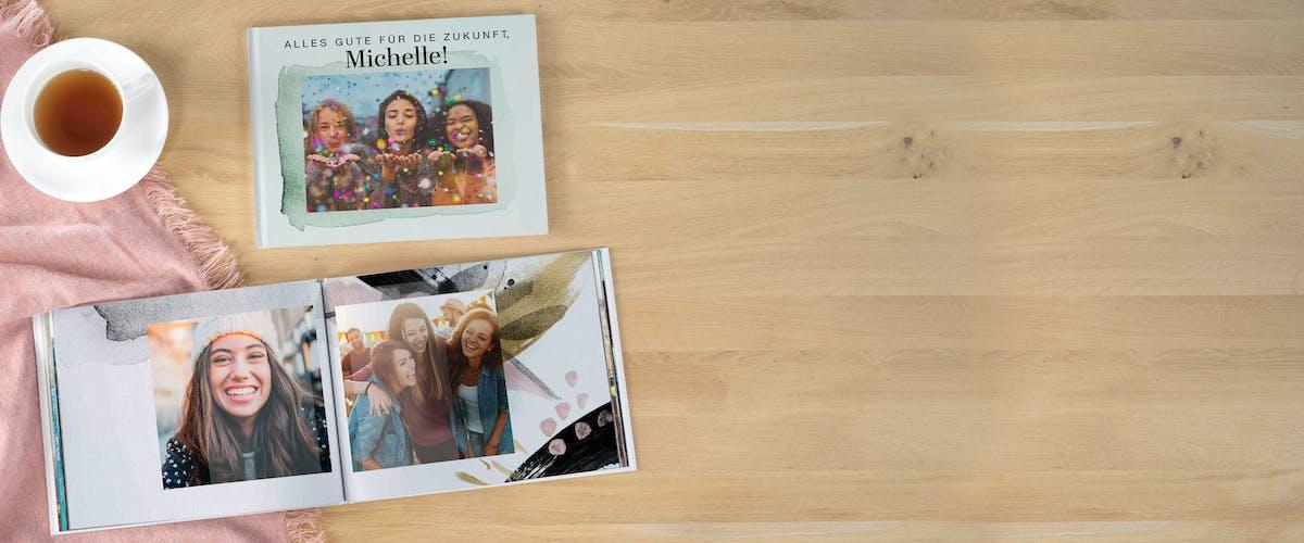 Fotobuch zum Abschied gestalten