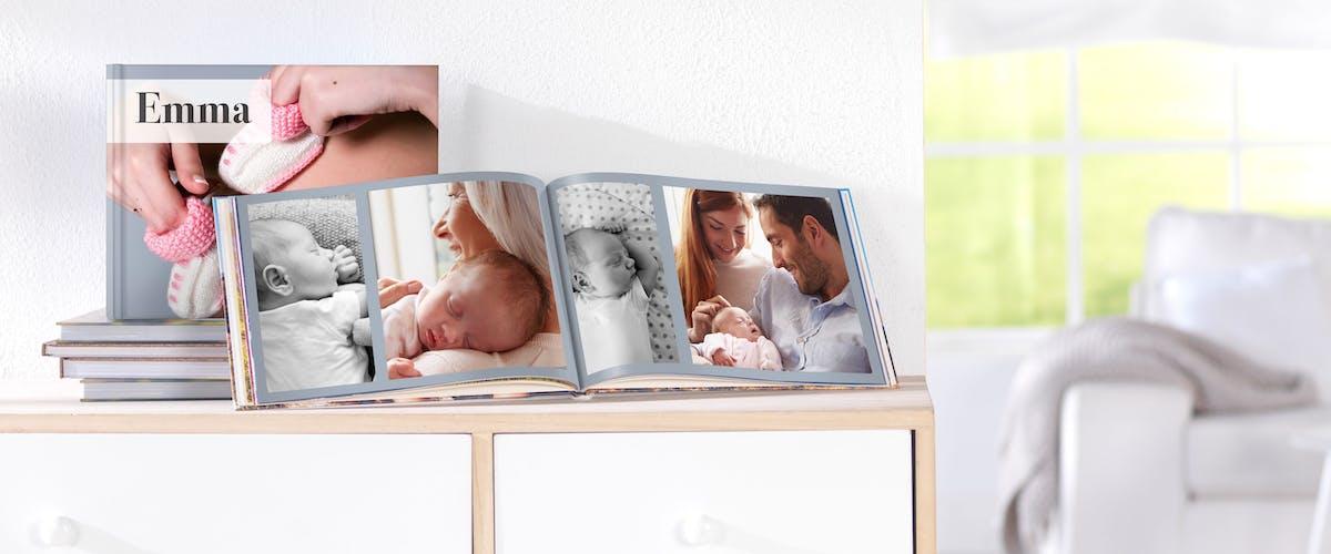 Baby-Fotobuch 1. Jahr