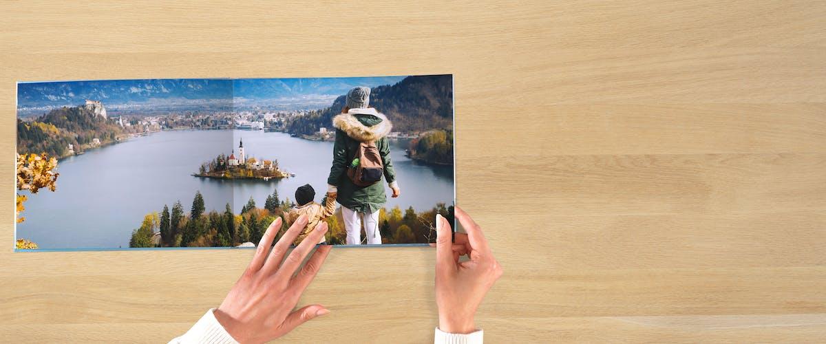 Layflat-Bindung für deine Panoramafotos