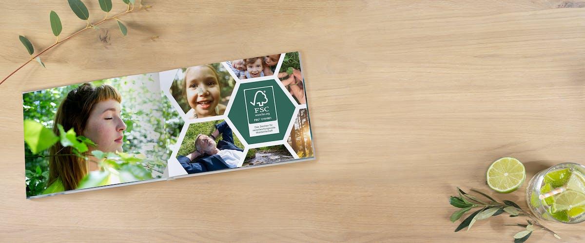 Duurzame fotoboeken