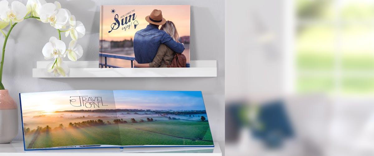 De kaft en binding van je fotoboek