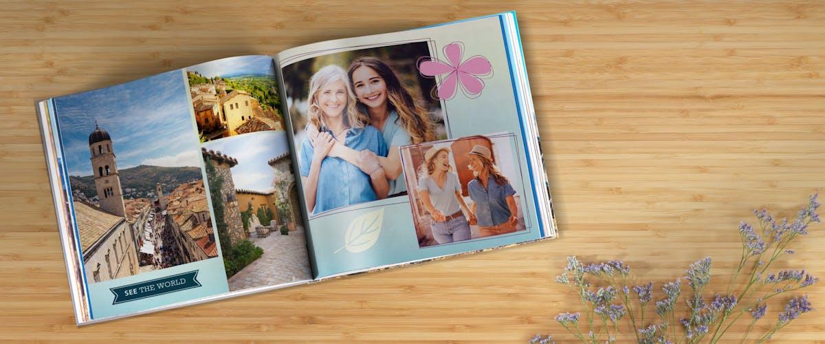 Designtip til Pixum fotobøgerne
