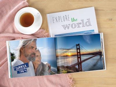 Fotobuch vom San Francisco Urlaub.