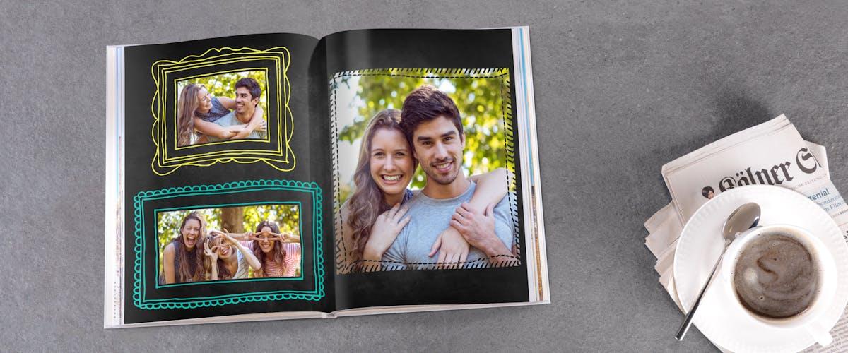 Rahmen & Masken im Fotobuch
