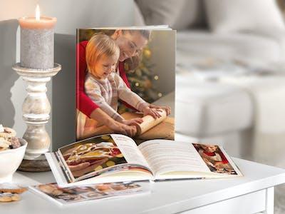 Egal ob Backen, Nähen, Kochen oder Streetart: Ihr Hobby-Fotobuch lässt sich passend zu Ihrer Passion im Nu gestalten.