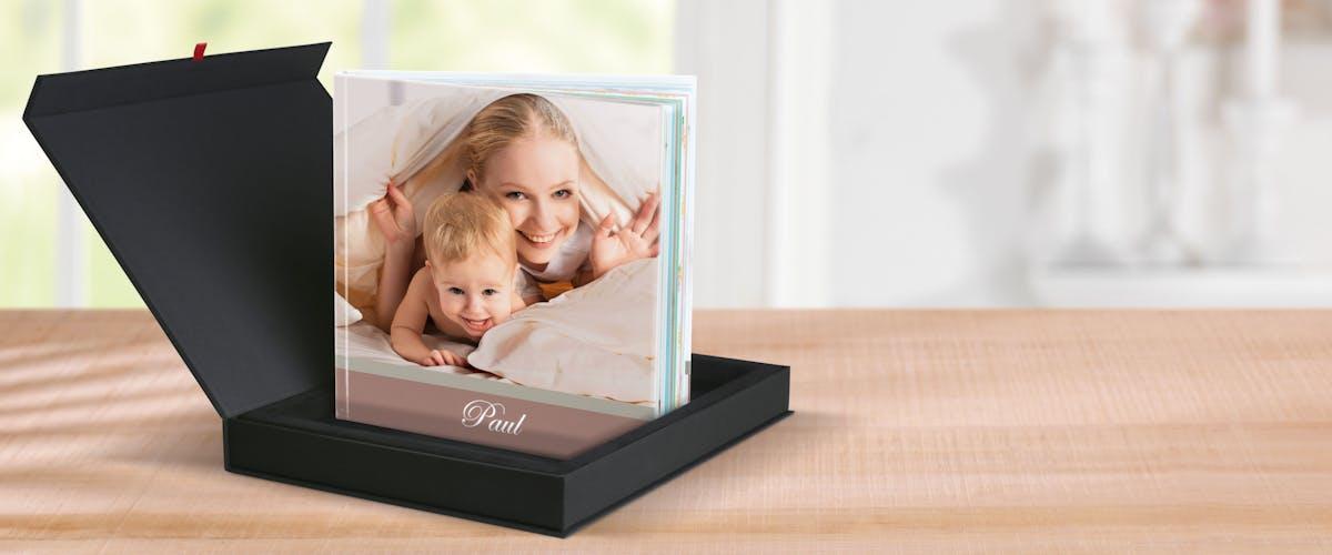 Bevara minnen i baby-fotoboken