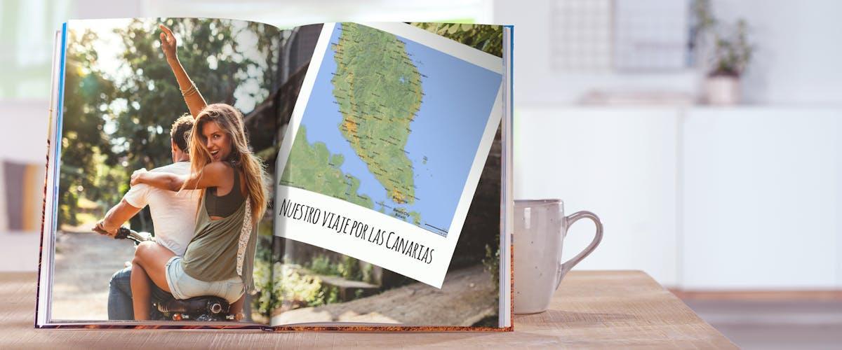 A�ade mapas a tu �lbum Digital Pixum