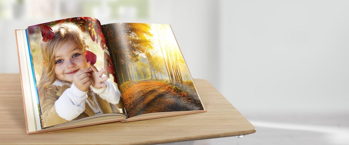 Jahresverlauf im Fotobuch