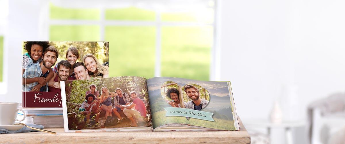 Freundebuch selbst gestalten