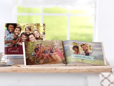 Photo Book on Your Recent Holidays Spent Together