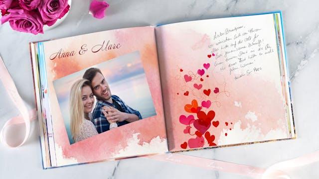 Foto Gästebuch Zur Hochzeit Pixum
