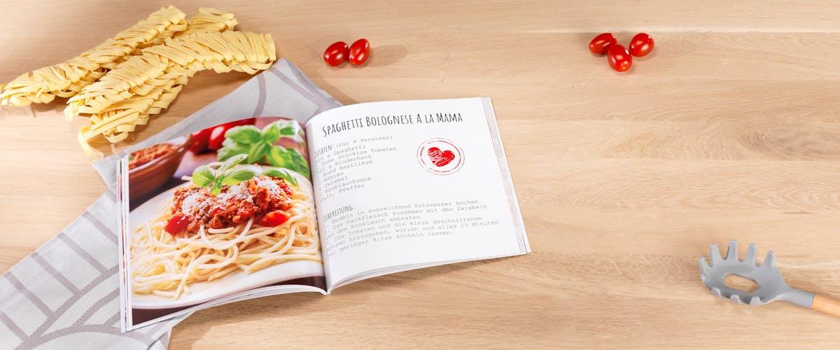 Gestalte dein eigenes Kochbuch