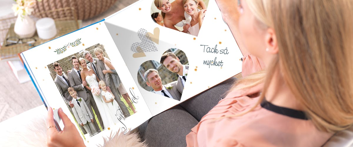 Skapa bröllopsalbum