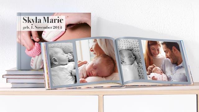 Baby Fotobuch Selbst Erstellen Pixum