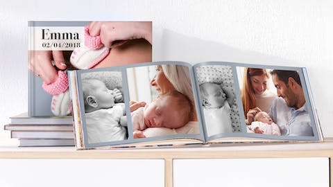 Capture the best moments with a Pixum Baby Book