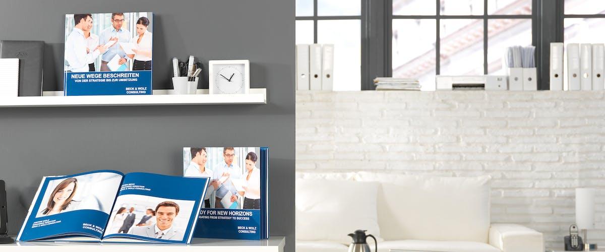 Présentez votre entreprise dans un livre photo