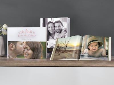 Verschiedene Beispiele für unser Pixum Fotobuch