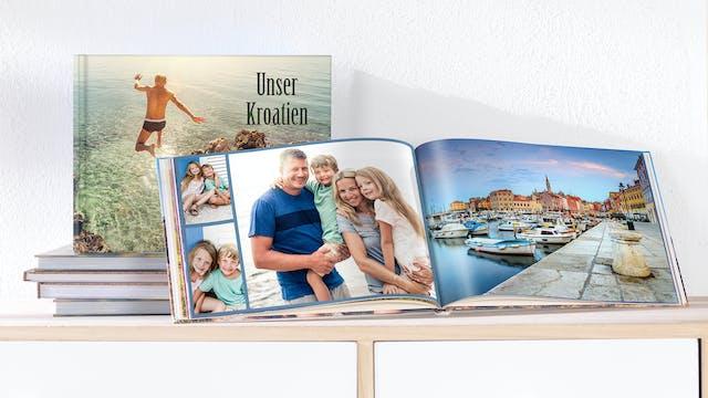Urlaubsfotobücher Fotobuch Kundenbeispiele Pixum