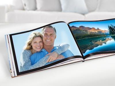 Im Fotobuch im Querformat kommen Panoramaaufnahmen besonders gut zur Geltung.