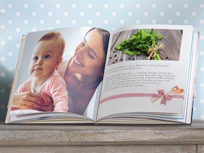 Pixum Fotobuch als Rezeptbuch