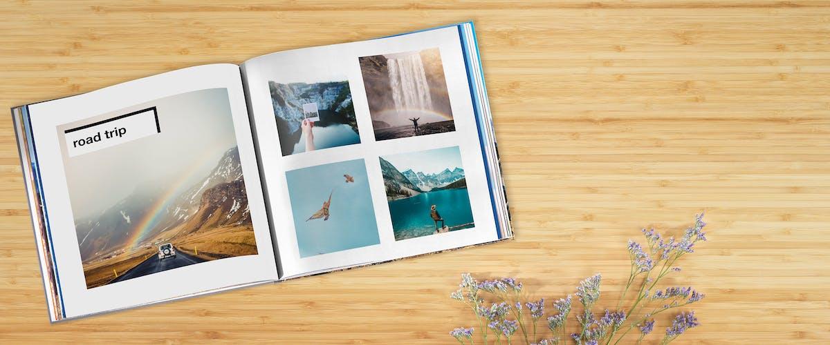 Fotos im Buch in Szene setzen