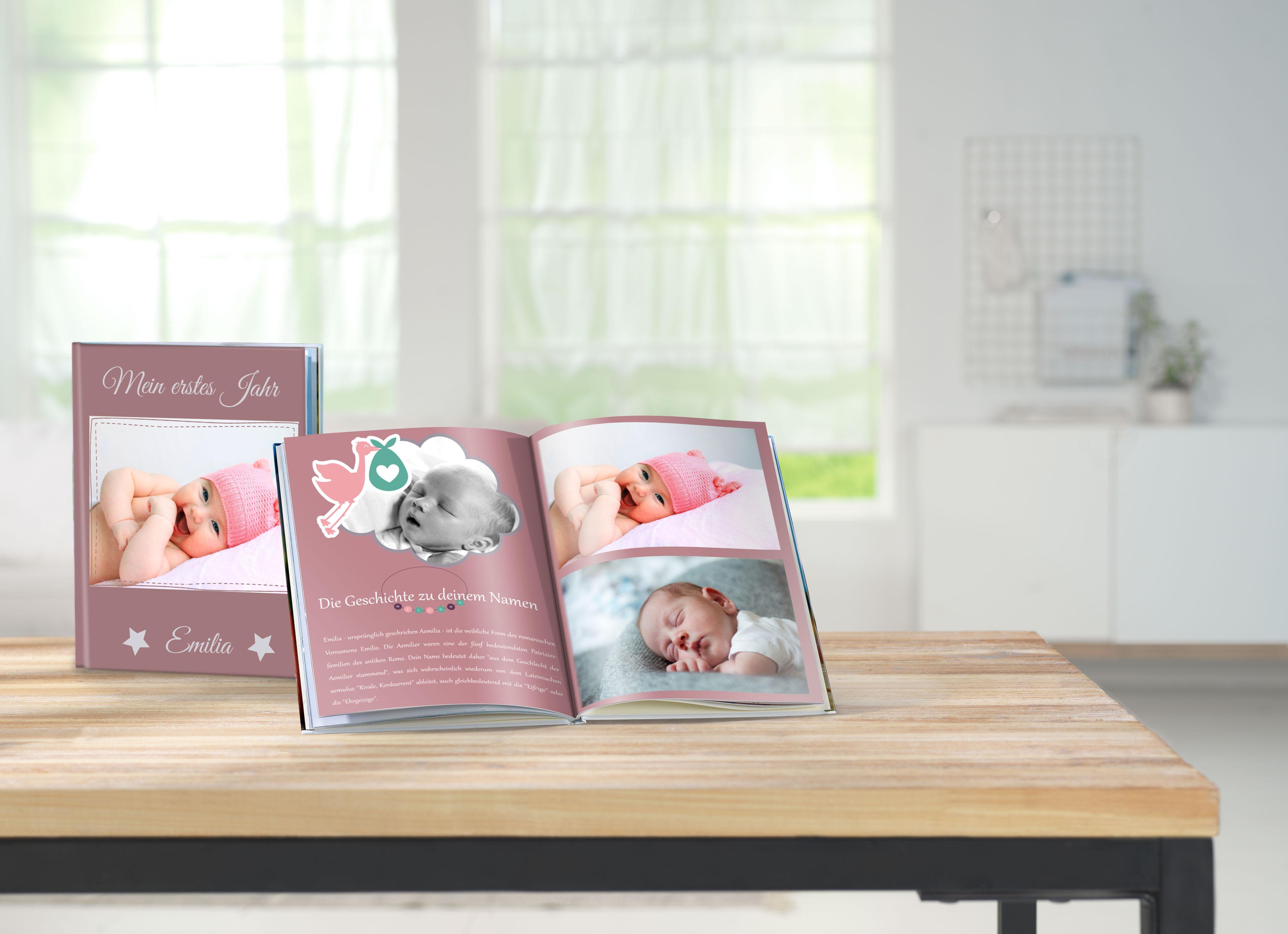Creative ideas for a baby photo book | Pixum