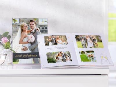 Hochzeitsfotobuch im Hochformat
