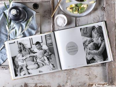 Gestalten Sie ein einzigartiges Baby-Fotobuch - einfach und schnell mit Pixum