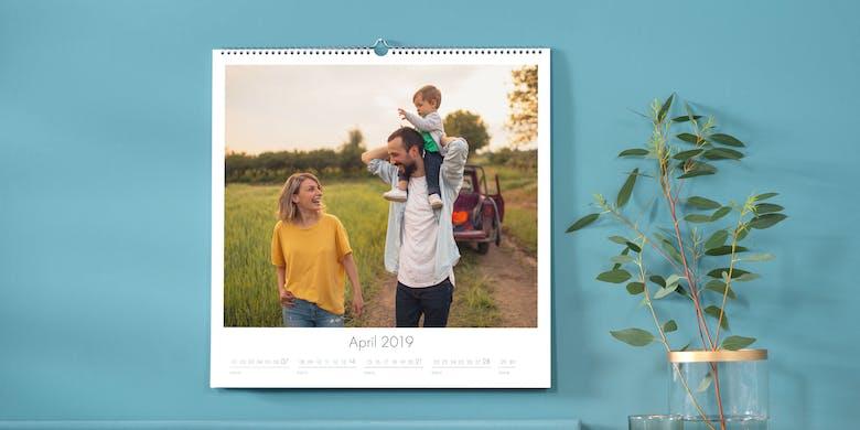 Jetzt Fotokalender gestalten