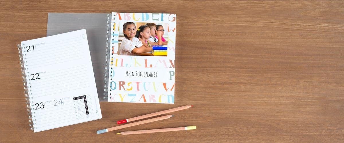 Schülerkalender selbst gestalten